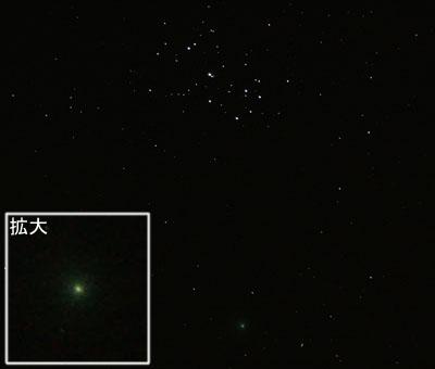 マックホルツ彗星