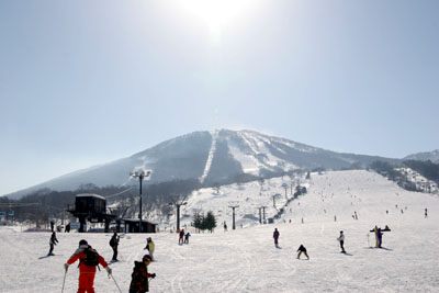 安比スキー場