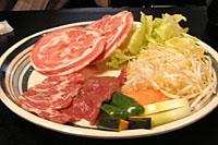 ロール肉とラム