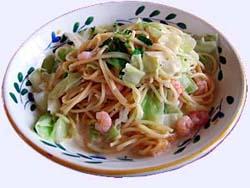 野菜たっぷりパスタ(2)
