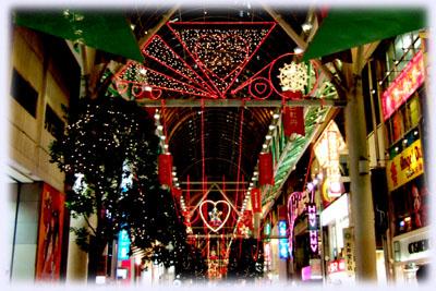 仙台市内の飾り