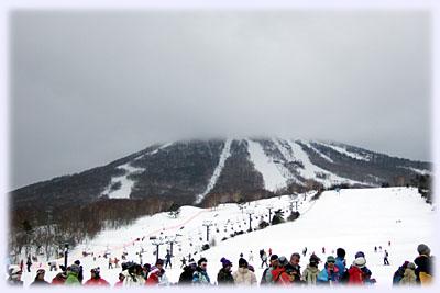 前森山は雲の中
