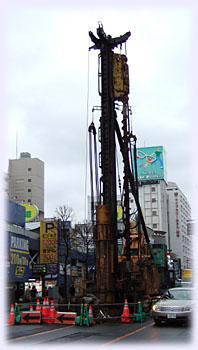 仙台地下鉄工事