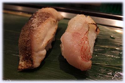 鯖とキンキ