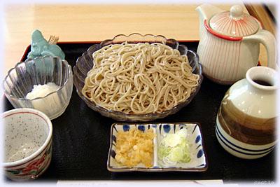 ひろせ庵の蕎麦