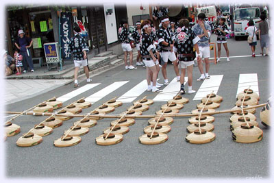 秋田竿灯祭り