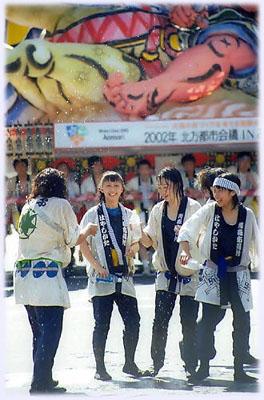 青森ねぶた祭り(昼)
