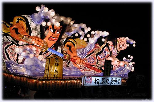青森ねぶた祭り(夜)