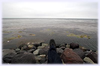 最北端の足