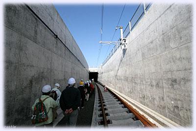 まもなくトンネル