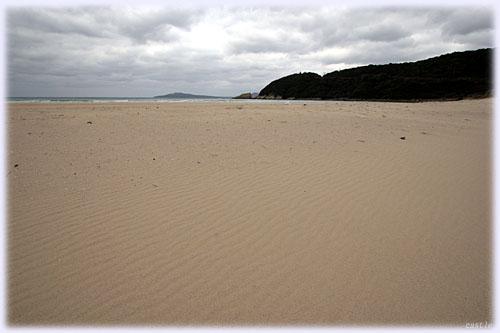 高浜の砂浜