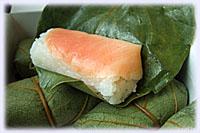 柿の葉寿司・鮭