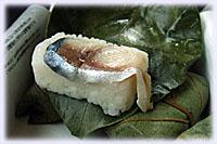 柿の葉寿司・鯖