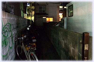 池田屋へ続く道