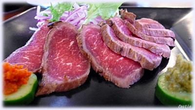 長崎牛のタタキ