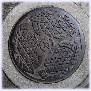 長崎のマンホール