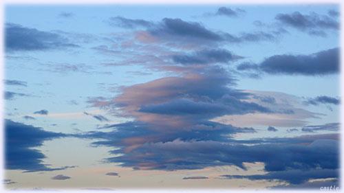 カキアゲのような雲