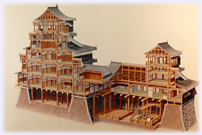 熊本城の内部構造