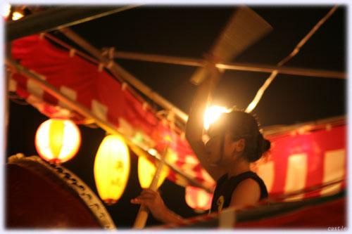 盆踊りの太鼓