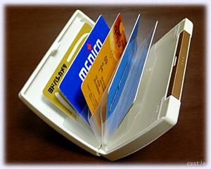 キングジム「解決!生活収納シリーズ」ポイントカードケース