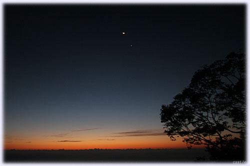 磐梯吾妻スカイラインから眺める日の出