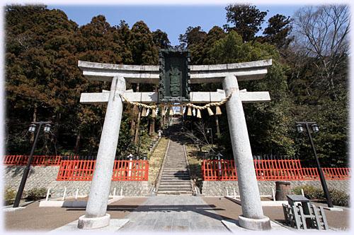 塩竈神社の石段