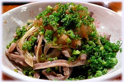 酢モツ(砂肝)