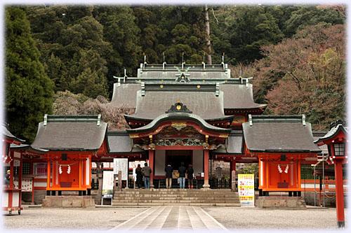 霧島神社、拝殿